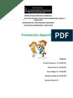 FORMACION DEPORTIVA CIRCUITOS