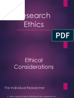 Research Ethics in Anthropology / Sociology