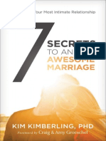7 Secrets to an Awesome Marriage Sample