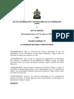 Codigo de Procedimientos Comunes Honduras