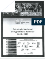 Estrategia Nacional de Agricultura Familiar 2015 - 2021