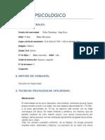 informe Neuropsicologico