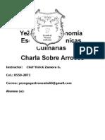 Folleto Del Arroz