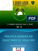 Politica Minera en Chile Para El Siglo XXI 124