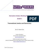 Forst Transnational Justice and Democracy