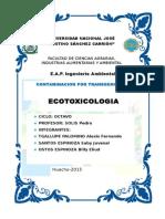 Trabajo de Ecotoxicologia