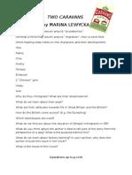 Two Caravans by Marina Lewycka TasksPlus Answers