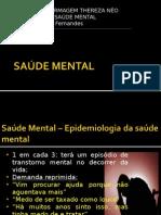 SAÚDE MENTAL - Epidemiologia e Fatores Desencadeantes