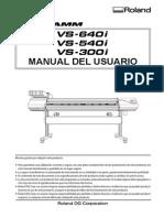 Manual Roland VS-640i Español