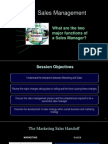 S 1 Basics of Sales and Distribution