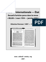 Ottorino Perrone - Parti Etat Internationale