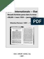 Ottorino Perrone - Parti Etat Internationale