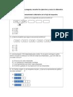 preguntas matemática 4° básico