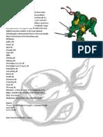 SAVAGE TMNT Characters
