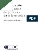 politicas publicas de la informacion