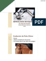 Semiologia UDLA - Clase 22 de Mayo de 2014