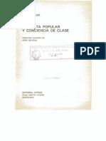 George Rude, Revuelta Popular y Conciencia de Clase Cap.1.2