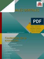 Dentales - materiales