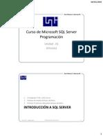 Curso SQL Server Prog U1-01