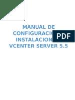 Manual de Configuracion e Instalacion de Vcenter Server