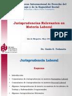 JURISPRUDENCIAS LABORALES 2014