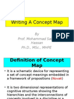 Writing a Concept Map