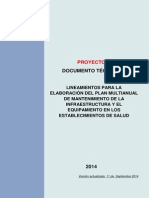 Directiva Plan de Equipamiento