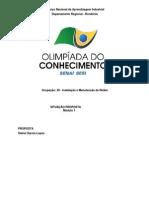 Proposta - Instalação e Manutenção de Redes - Módulo 3
