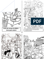 Linha Do Tempo Da Bíblia – Livro Para Colorir