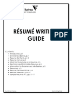 Stuart Resume Guide