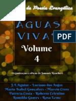 ÁGUAS VIVAS Volume 4 - Antologia de Poesia Evangélica