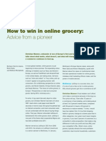 How to Win in Online Grocery