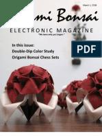 Origami Bonsai Electronic Magazine Vol 2 Issue 2