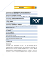 DCA-742 Bioprocesos