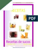 Receitas de Sucos Valdirene Silva
