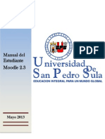 Manual Del Estudiante Version Mayo 2013 --Moodle-