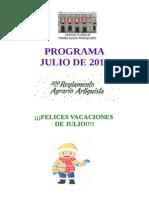 Programa Julio 2015