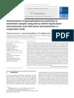 Determination of Organophosphorous