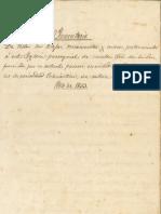 Inventario Parroquia Ntra. Sra. de la Luz 1853
