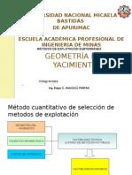 170713167 Geometria Del Yacimiento Exposicion