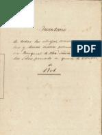 Inventario Parroquia Ntra. Sra. de la Luz 1901