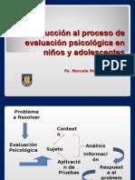 1) Introduccion Al Proceso de Evaluacion Psicologica en Ninos