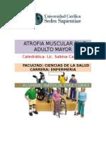 Atrofia Muscular en El Adulto Mayor