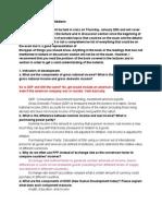 World economic StudySheet
