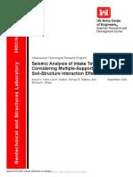 Seismic Analysis of Intake Towers