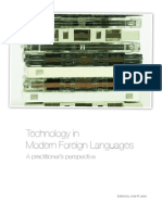 Technology in Modern Foreign Languages - A Practitioner's Perspective