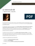 La Impostación (I) | Web Oficial de Anima Adversa