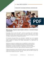 30-06-15 Definen equipos de transición municipal primeras comisiones de trabajo