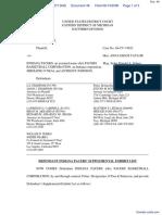 Haddad v. Indiana Pacers et al - Document No. 46