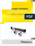 Plastica - Tubos y Conexiones - Union Flexible